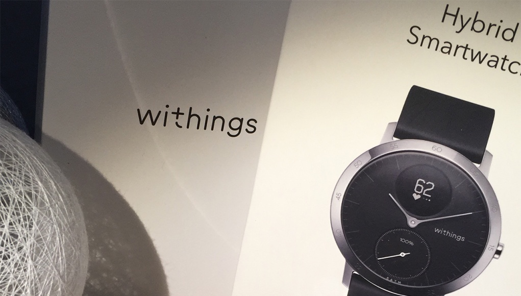 Withings Steel HR doboza